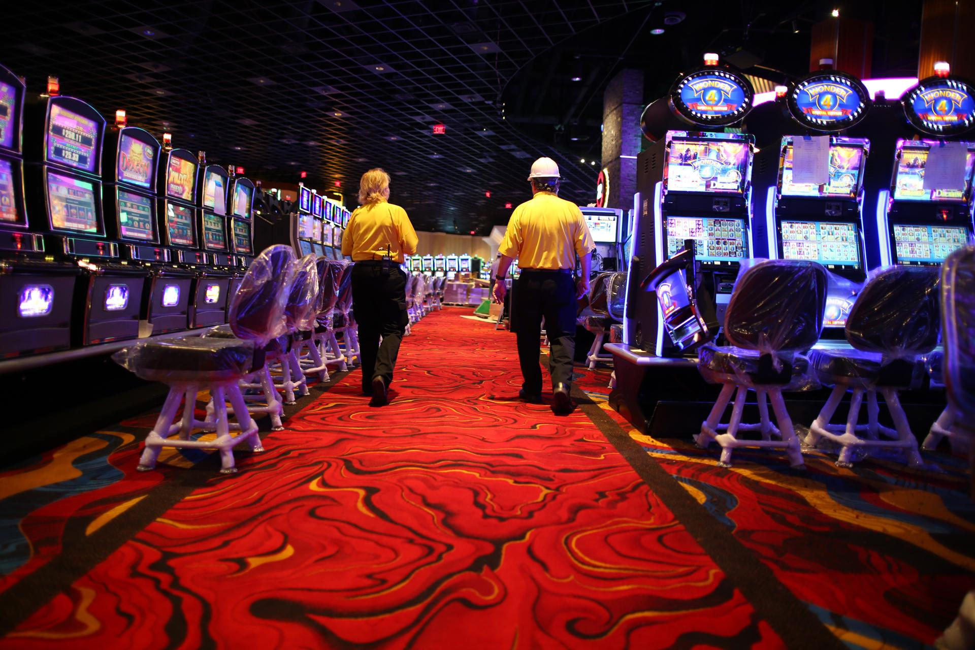 The nonsmoking casino in Plainville includes 1,500 slot and video blackjack machines.